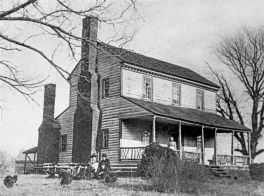 Home in Siler City - Picture courtesy of Chatham County Historical Association
