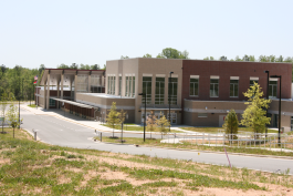 Margaret B. Pollard Middle School: The first LEED Gold middle school in the state, located in northeastern Chatham County.